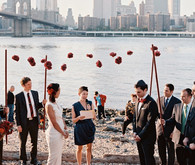Brooklyn bridge ceremony