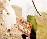Jcrew bride and groom attire