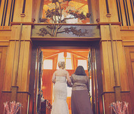 Mother and bride entrance