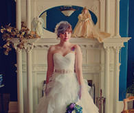 Alita Graham wedding dress