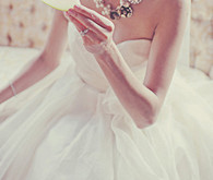 Watters bridal dress detail