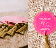 moroccan inspired wedding menu