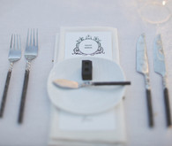Letterpress Block Table Setting