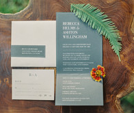 Rustic Minimal Wedding Invitations