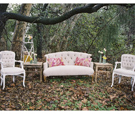 Boho Vintage Lounge Seating