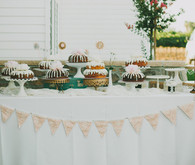 Bundt Cake Dessert Table
