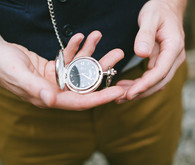 Groom's Silver Pocketwatch