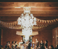 Lamp Chandelier and Bunting