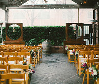 Industrial Rustic Ceremony
