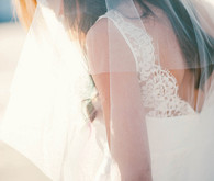 Nicole Miller Lace Wedding Gown