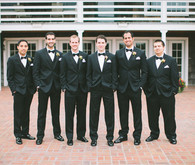 Black by Vera Wang Groomsmen Suits