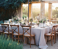 Romantic Australian Wedding Reception