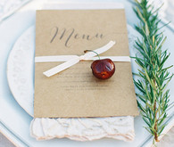 Cherry and Rosemary Menu