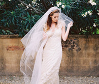 Scalloped Lace Claire Pettibone Gown