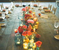 Rustic Glam Reception Table