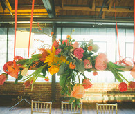 Colorful Hanging Floral Arrangement