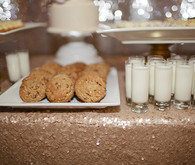 Glitter Milk and Cookies Bar