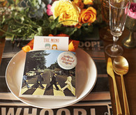 60s Rock-n-Roll Place Setting