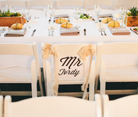 Rustic White Reception Decor