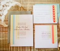 Colorful Garden Estate Invitations