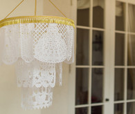 Papel Picado Flag Chandelier