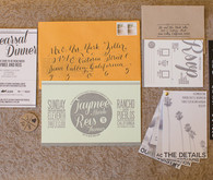 DIY Indie Wedding Invitations