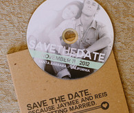 DIY CD Save the Date