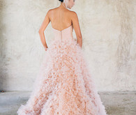 Pink Watters Palm Springs gown