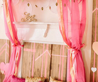 Pink and Gold Tent