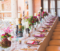 Mexican Destination Wedding Reception