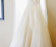 Decorative One Shoulder Wedding Dress