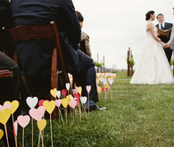 Colorful Heart Aisle Runner