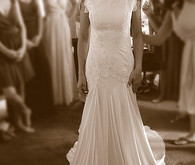 Carol Hannah Beaded Eyelet Wedding Dress