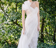 Ines di Santo One-Strap wedding dress