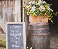 Rustic Irish Ceremony Decor