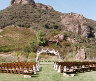 Saddlerock Ranch Wedding Ceremony