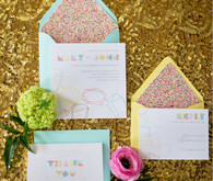 Pastel Geometric Stationery