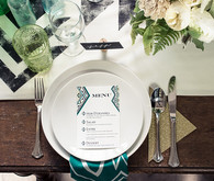 Bohemian Art Deco Place Setting