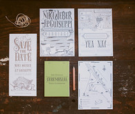 Rustic Point Reyes Wedding Invitations