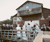 Rustic Point Reyes Outdoor Ceremony
