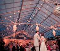 Greenhouse Twinkle Lights and Chandeliers