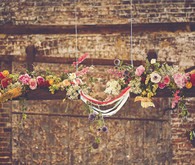Hanging Rafters Floral Decor