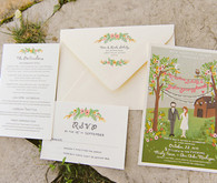 Farm Wedding Invitations by Anna Bond