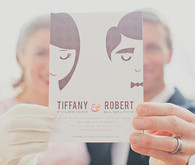 Valentine's Day Elopement Invitation Portrait
