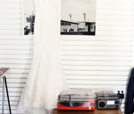 Enzoani Wedding Dress with Record Player