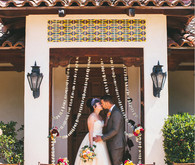 Whimsical Summer Spanish Tile Ceremony