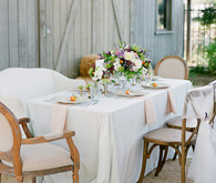 Citrus and Lavender Classic Tablescape