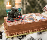 Canon Photographer Cake