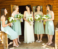 Vintage California Ranch Wedding Bridesmaid