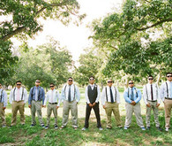 Southern California Ranch Wedding Groomsmen
